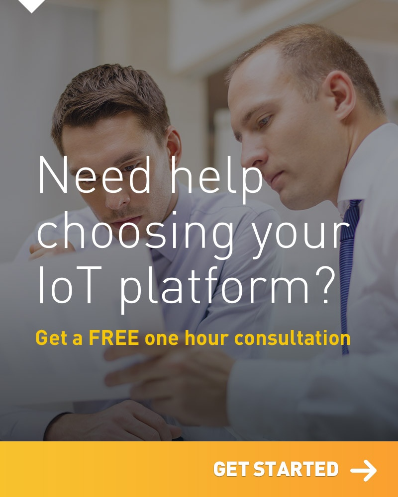 Need help choosing your IoT platform? Get a FREE an hour consultation