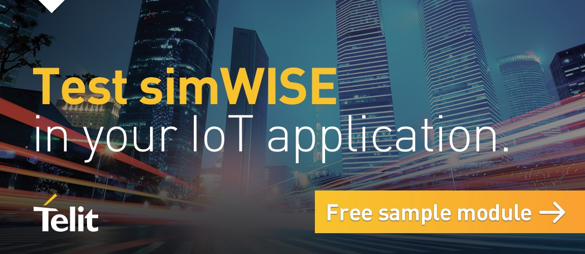 Test simWise in your IoT application. Click here to request a free sample module.