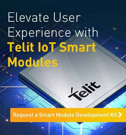 Elevate User Experience with Telit IoT Smart Modules. Request a Smart Module Development Kit.