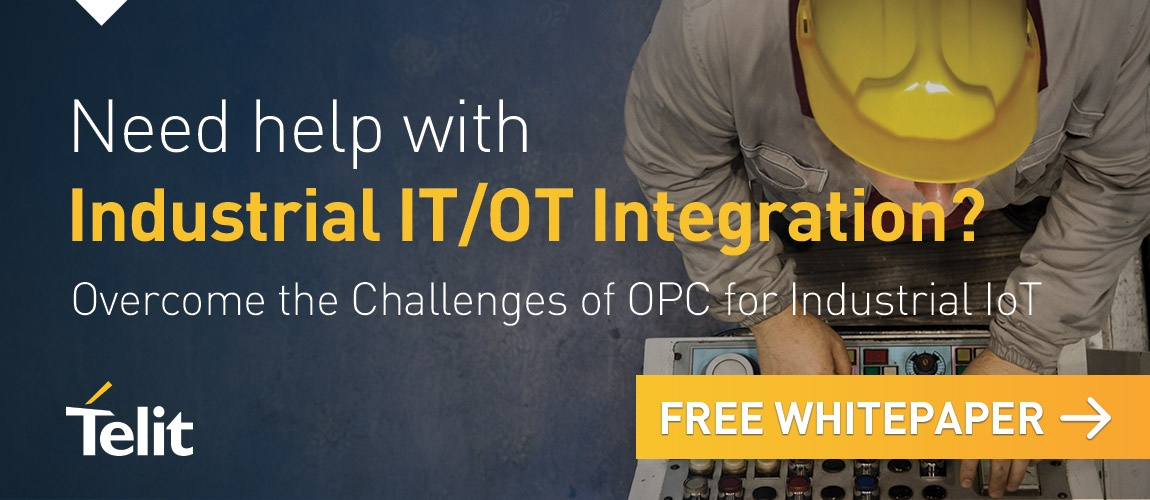 Need help with Industrial IT/OT Integration? Over come the challenges of OPC for Industrial IoT with this free whitepaper. Click here.