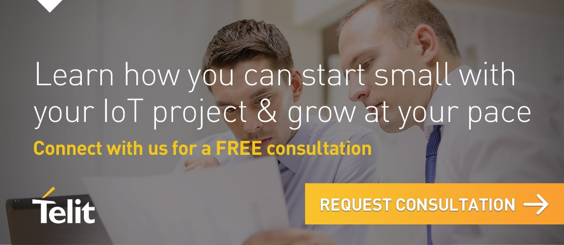 Learn how you can start small with your IoT project & grow at your own pace. Connect with us for a free consultation - just click here.