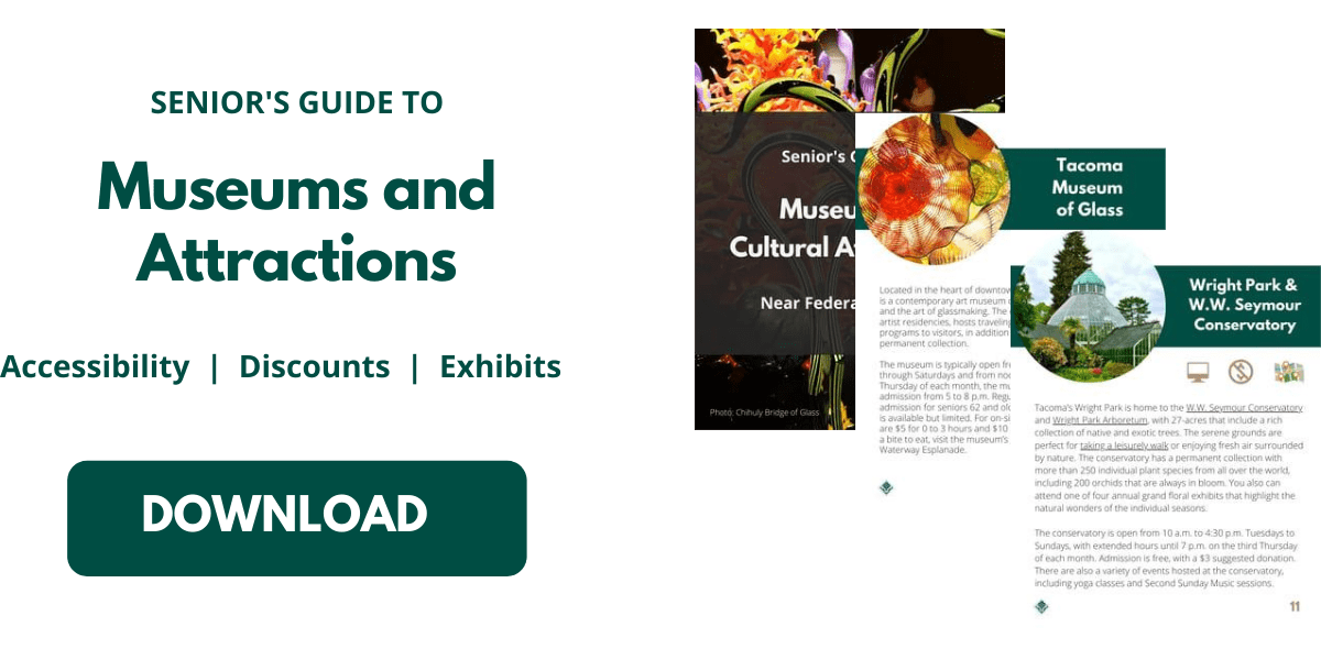 Seniors Guide to Federal Way Museums and Attractions Download