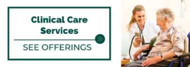 Clinical Care Services offered at Village Green Retirement Community