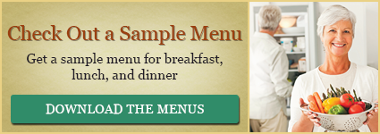 Sample Menu's I Village Green Retirement Center