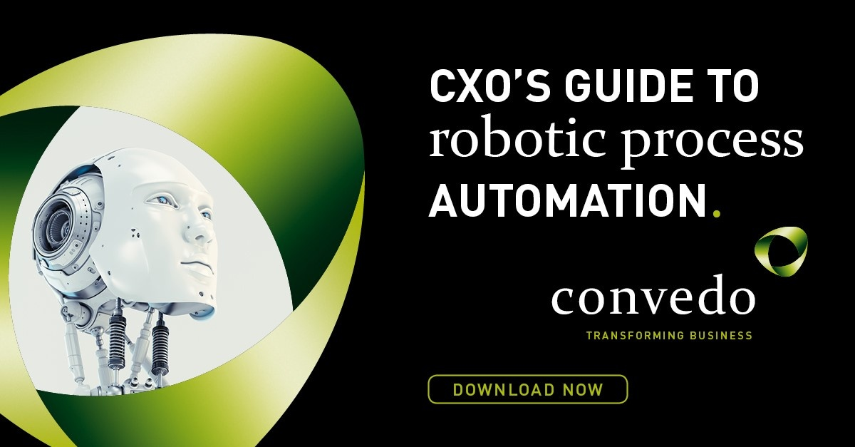 convedo CXO's Guide to Robotic Process Automation