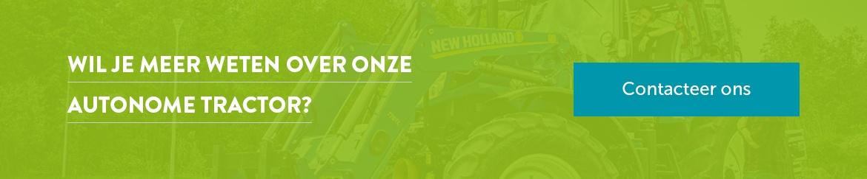 Contacteer ons voor meer info over onze autonome tractor.