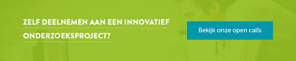 Zelf deelnemen aan een innovatief onderzoeksproject?