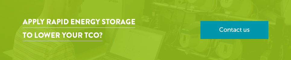 Apply rapid energy storage to lower your TCO?