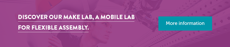 Discover our Make Lab, a mobile lab for flexible assembly.