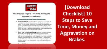 Brake Centers 10 Step Checklist