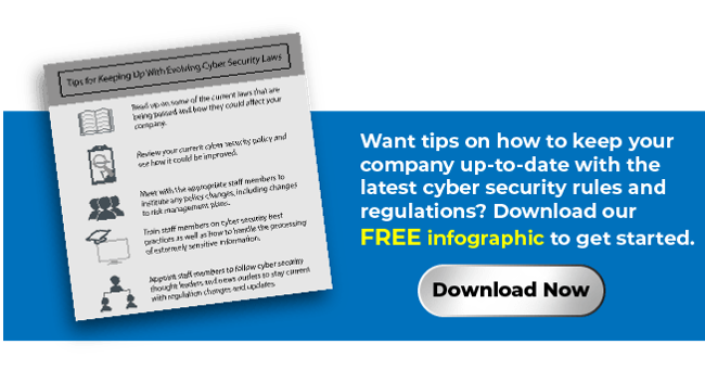 Tips for Keeping Up With Cyber Security Regulations
