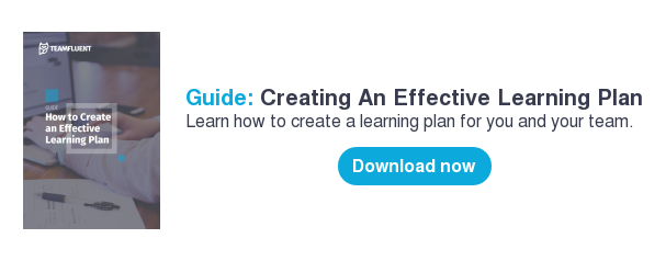 Guide: Creating An Effective Learning Plan Learn how to create a learning plan for you and your team.     Download now