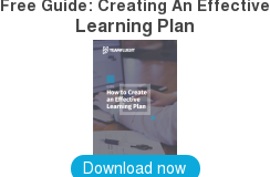 Free Guide: Creating An Effective  Learning Plan    Download now