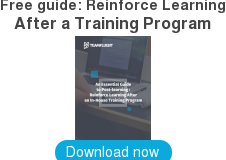 Free guide: Reinforce Learning   After a Training Program    Download now