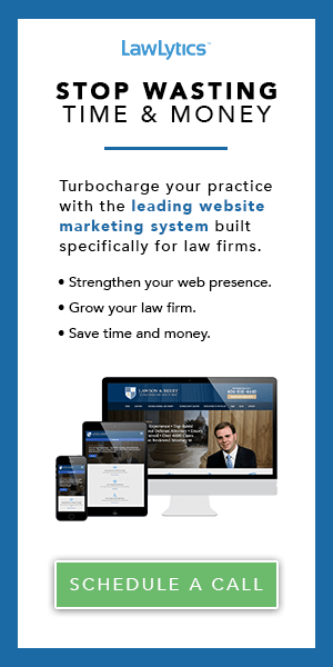 Let's Elevate Your Law Firm's Website: Schedule A Call