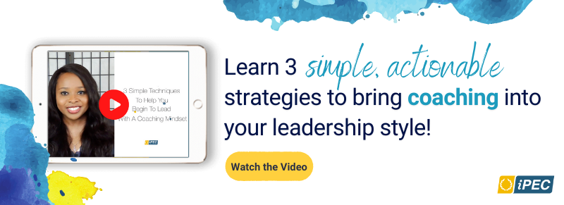 Watch the Video on '3 Simple Strategies to Bring Coaching Into Your Leadership'