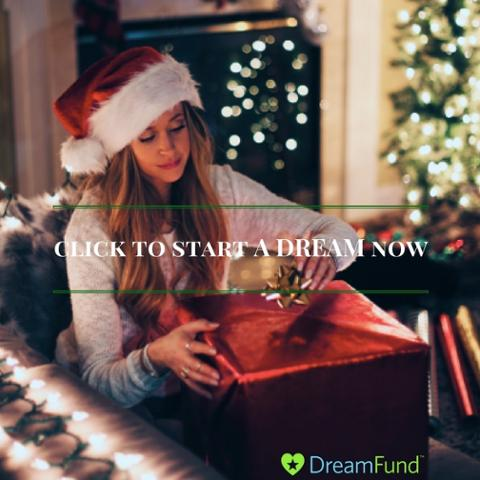 dreamfund holiday crowdfunding social gifting