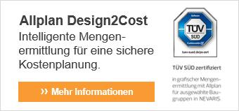 Mehr Informationen zu Allplan Design2Cost