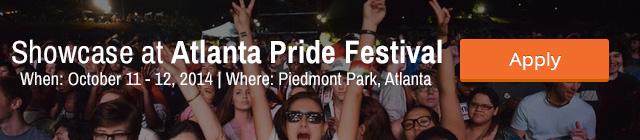 Showcase at Atlanta Pride Festival