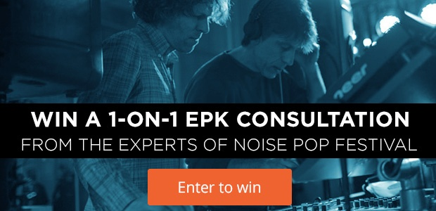 Win an EPK Consult From Noise Pop