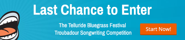Troubador Songwriting Competition