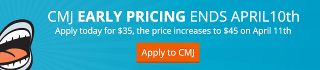 CMJ Early Pricing