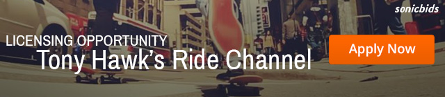 Licensing Music for Tony Hawk Ride Channel