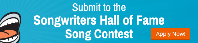 Song writers hall of fame song contest