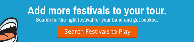 Find Festivals to Play