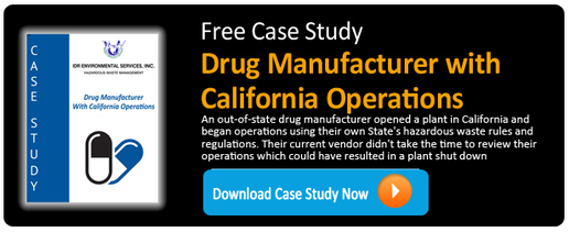 IDR Case Study - Drug Manufacturer with California Operations