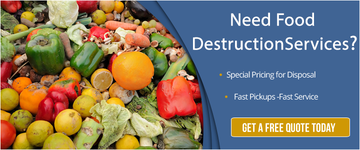 food destruction services