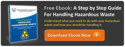 A Step by Step Guide for Handling Hazardous Waste