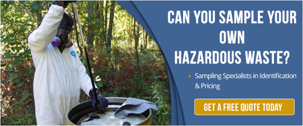 hazardous waste sampling