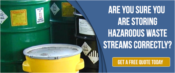 Hazardous Waste Storage Containers