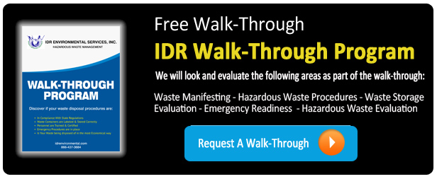 IDR Walkthrough Program