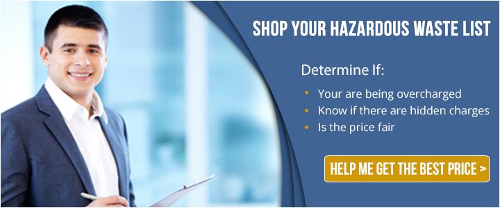shop your hazardous waste list