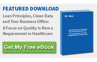 Lean Principles, Clean Data and Your Business Office