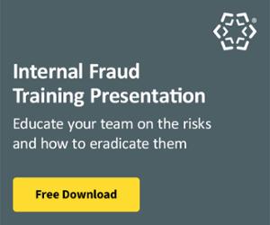 Internal Fraud Training Presentation
