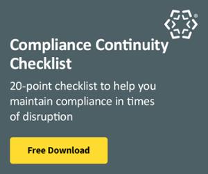 Compliance Continuity Checklist