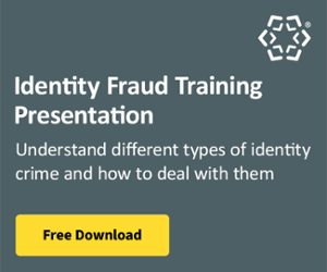 Identity Fraud Training Presentation