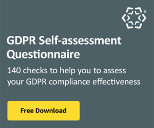 GDPR Self Assessment Questionnaire