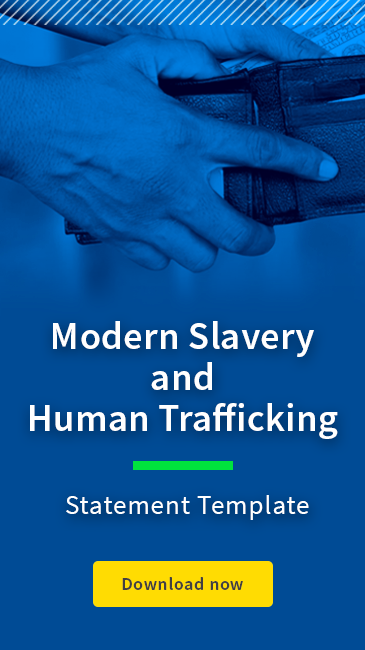 Modern Slavery and Human Trafficking Template