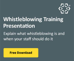 Whistleblowing Training Presentation
