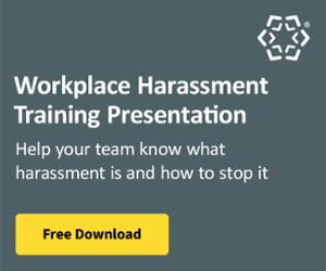 Workplace Harassment Training Presentation