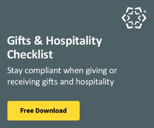 Gifts & Hospitality Checklist