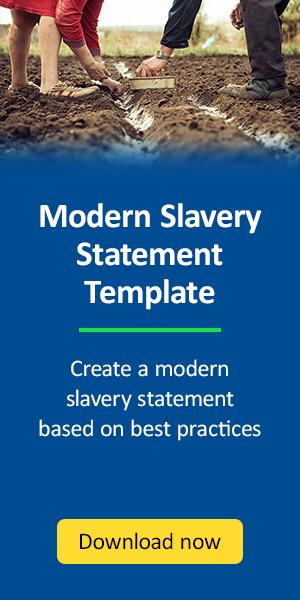 Modern Slavery Statement Template