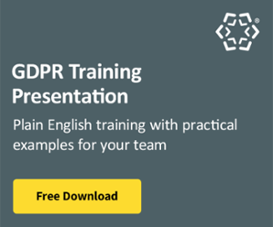 GDPR Training Presentation