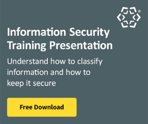 Information Security Training Presentation