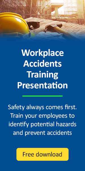 Workplace Accidents Training Presentaion