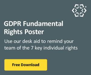GDPR Fundamental RIghts Poster